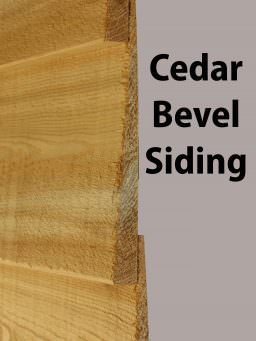 Cedar Bevel Siding Capitol City Lumber