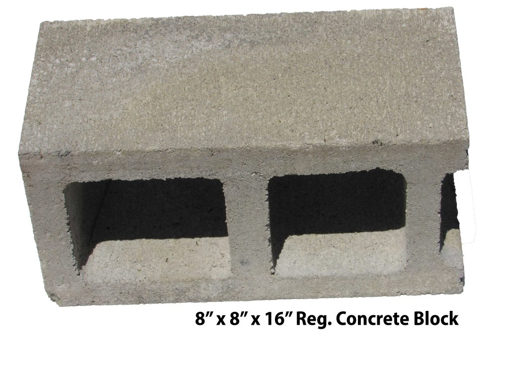 Regular Concrete Block Capitol City Lumber