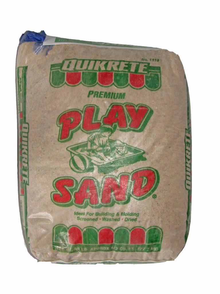 Play Sand 50lb Bag Capitol City Lumber