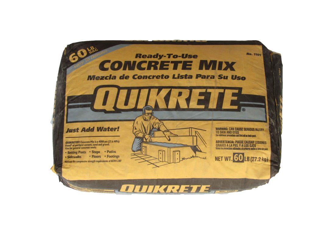 Quikrete Concrete Mix 60lb Capitol City Lumber