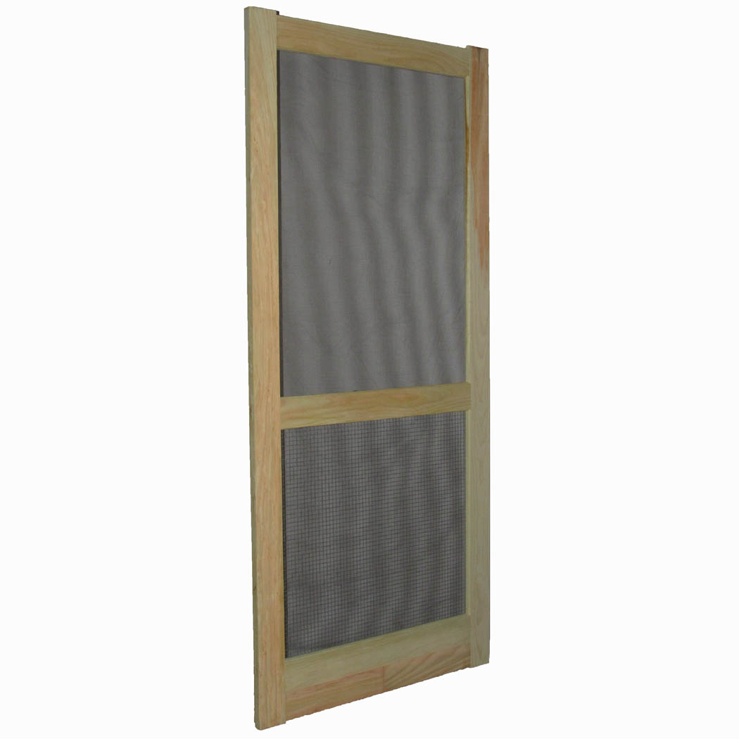 Add to cart  sc 1 st  Capitol City Lumber & Paul Argoe Style 100 W. Pine Treated Screen Door with Hardware Cloth ...