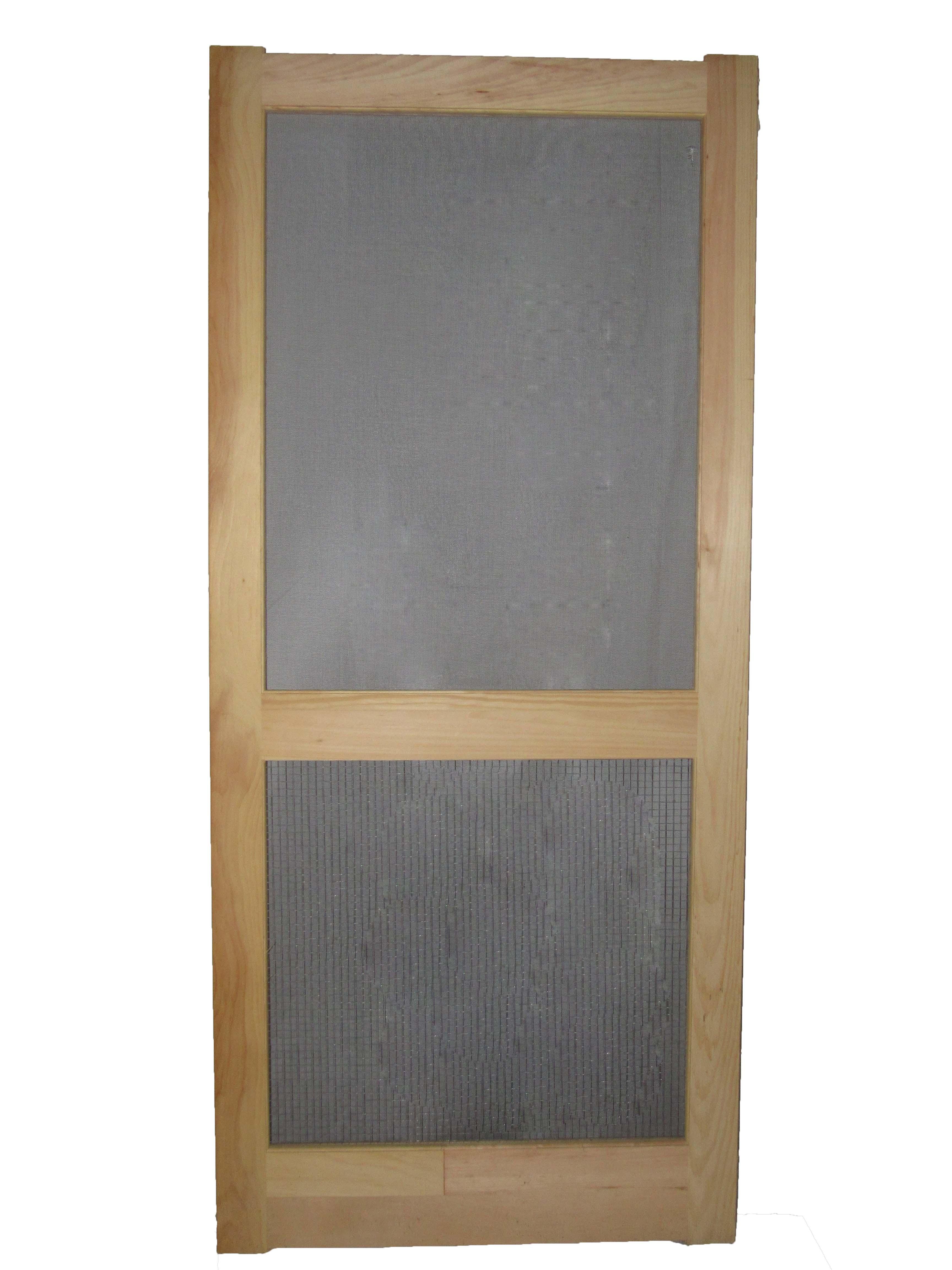 Paul Argoe Style 300 White Pine Screen Door With Hardware Cloth
