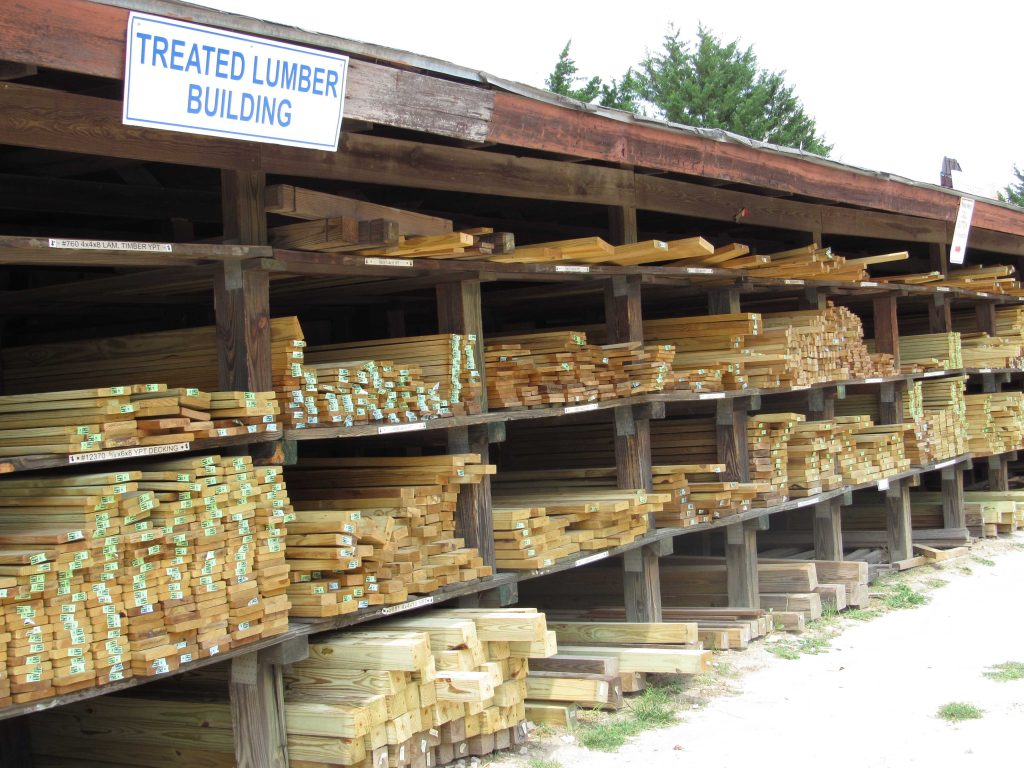 Treated Lumber Capitol City Lumber