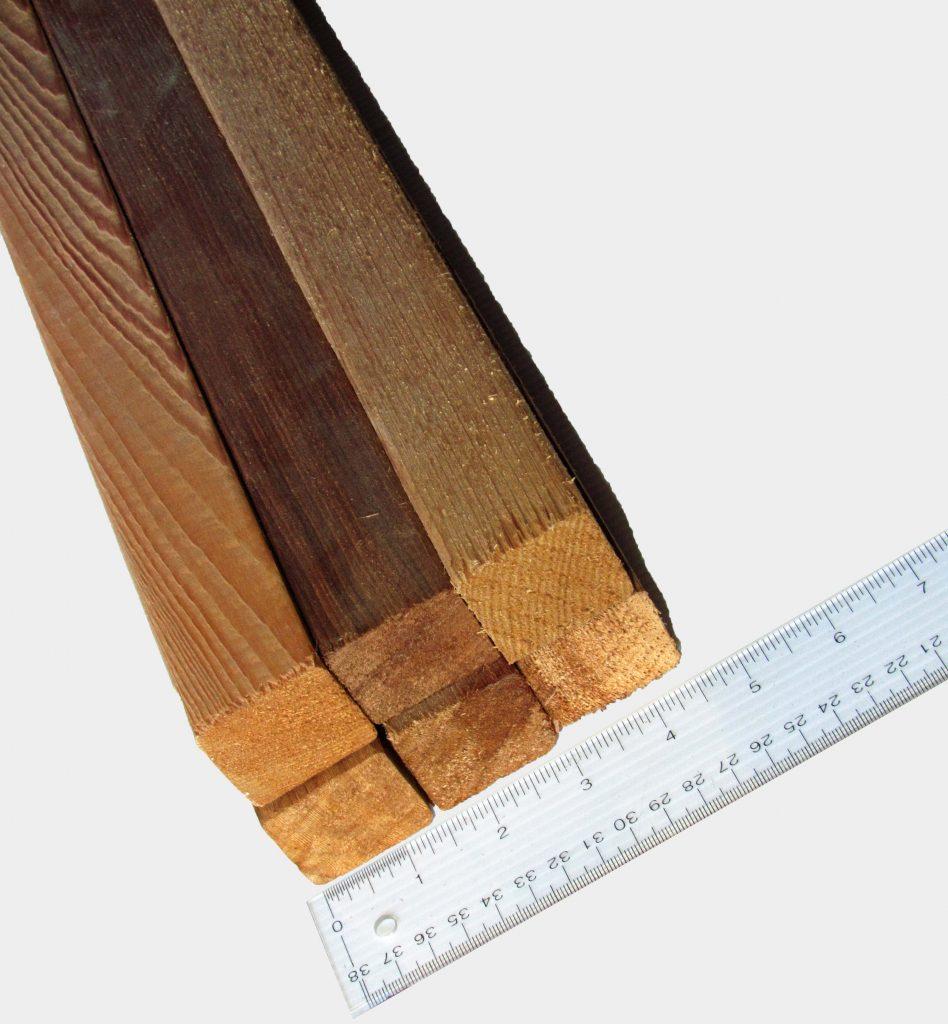 2x2 Wr Cedar Clear S4s Capitol City Lumber