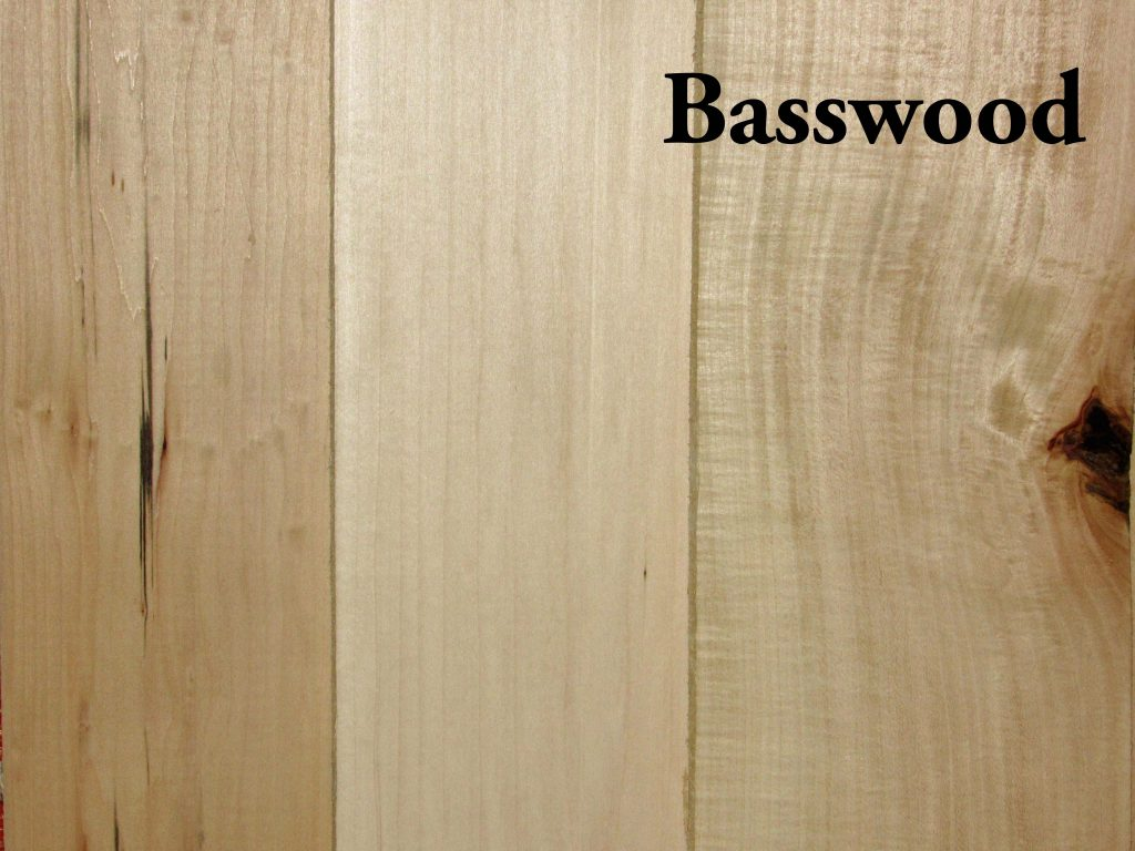 Basswood Hardwood S4s Capitol City Lumber