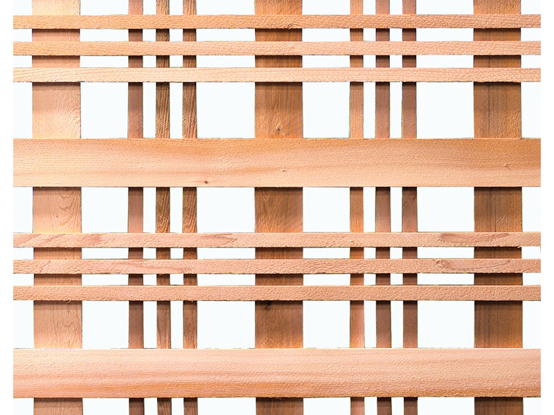 Catalina Woodway Cedar Lattice Capitol City Lumber