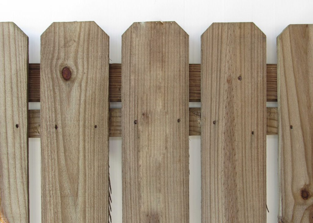 Dog Eared Fencing Pickets Capitol City Lumber