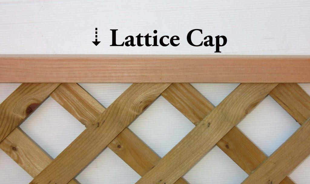 Lattice U Cap Capitol City Lumber