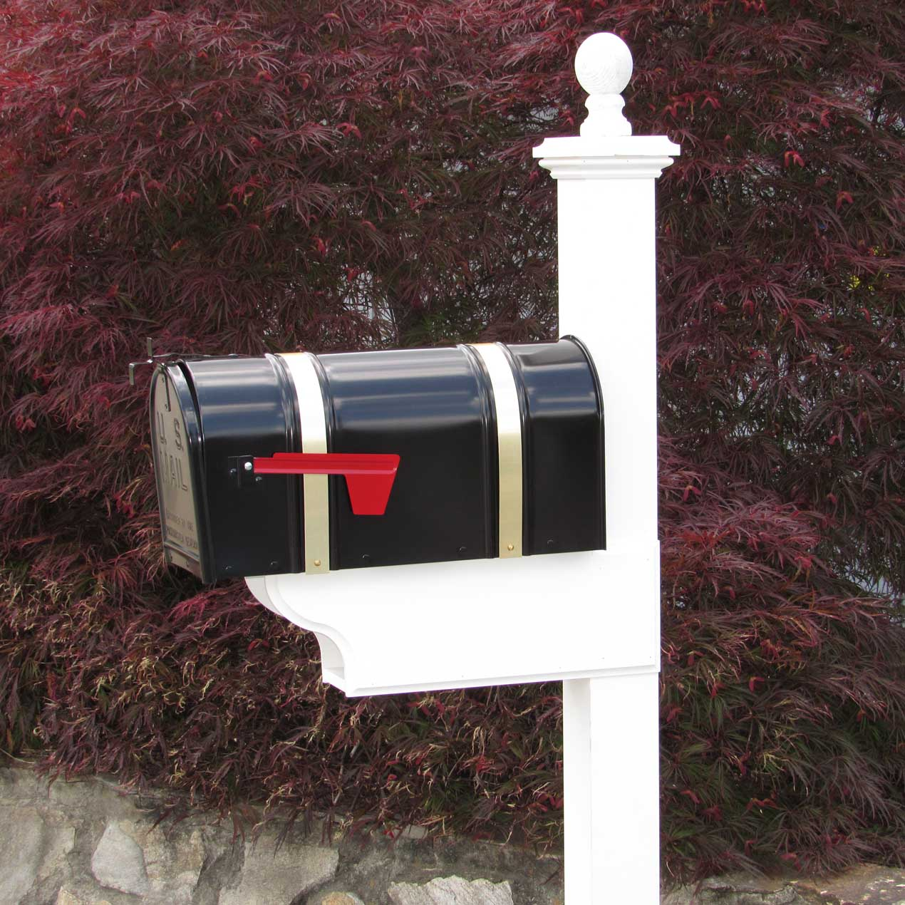 Pvc Heritage Mailbox Posts Capitol City Lumber