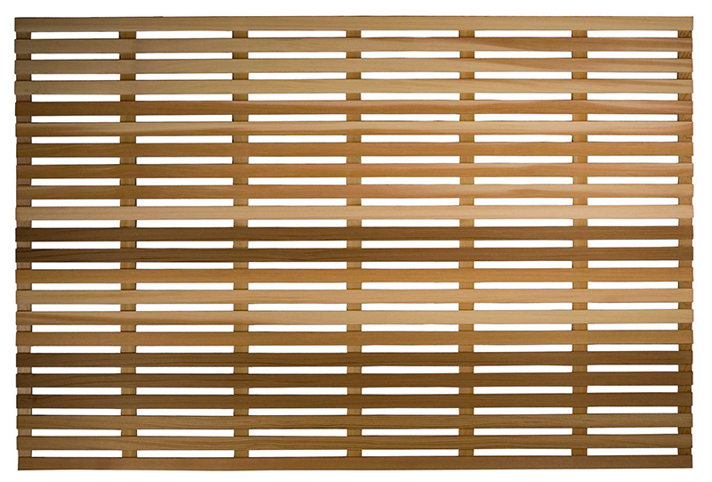 Moderna woodway redwood privacy lattice panel screen for Lattice panel privacy screen