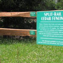 Split-Rail, Cedar