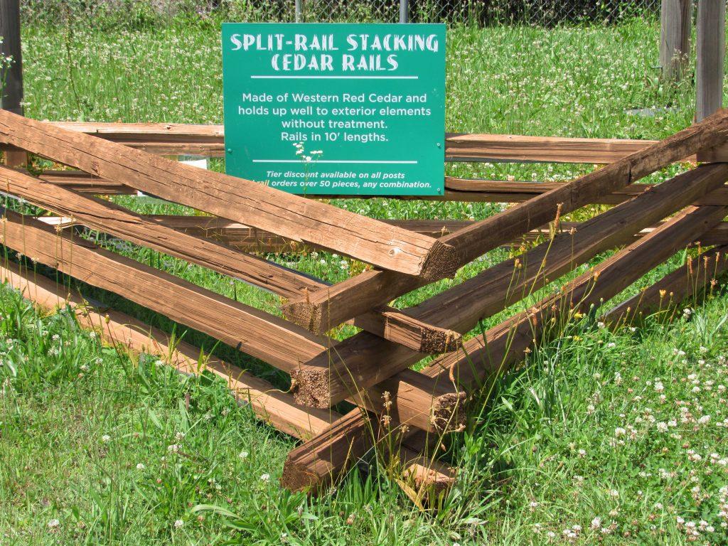 Wood Fence Doors