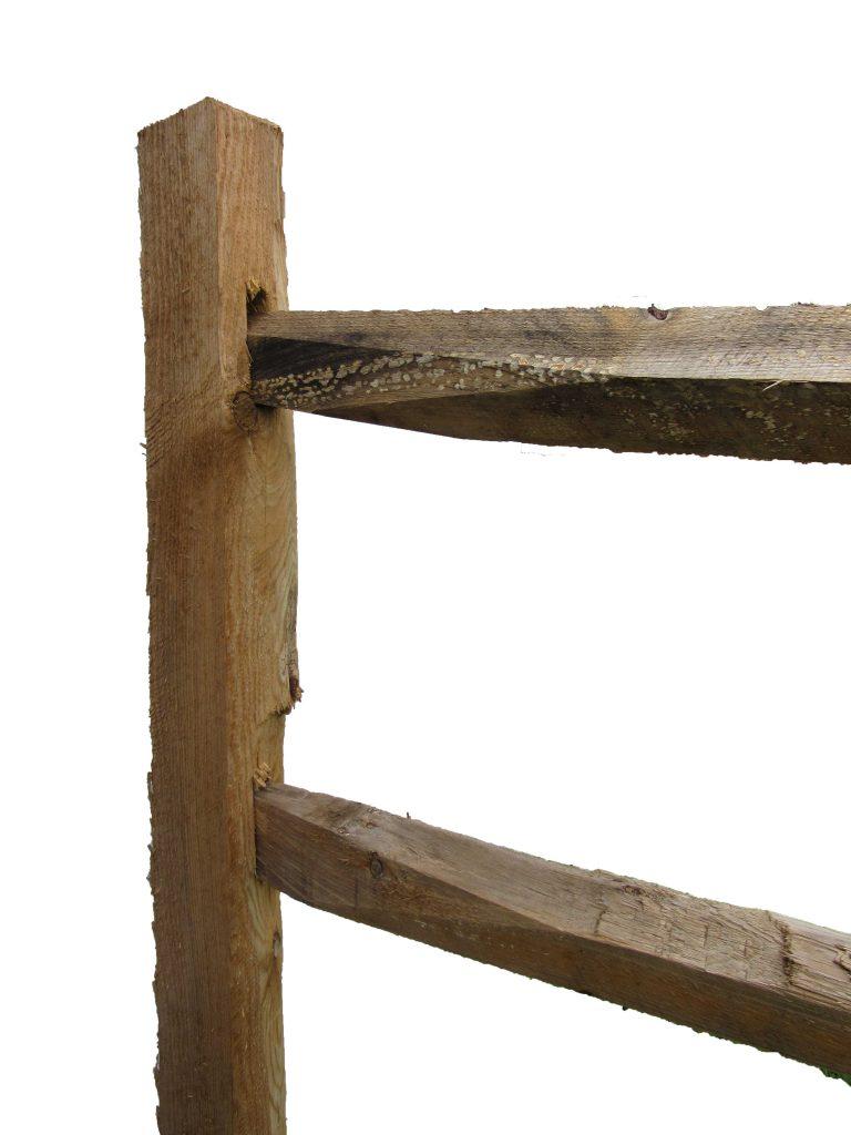 Split Rail Treated Posts 2 Hole Capitol City Lumber