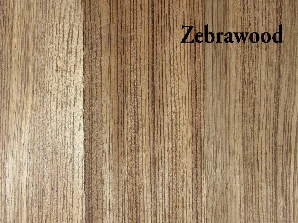Zebrawood Hardwood S4s Capitol City Lumber