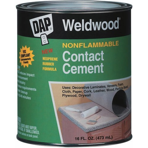 Nonflammable Contact Cement Dap Weldwood Capitol City