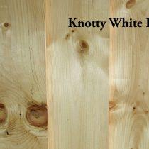 Knotty White Pine