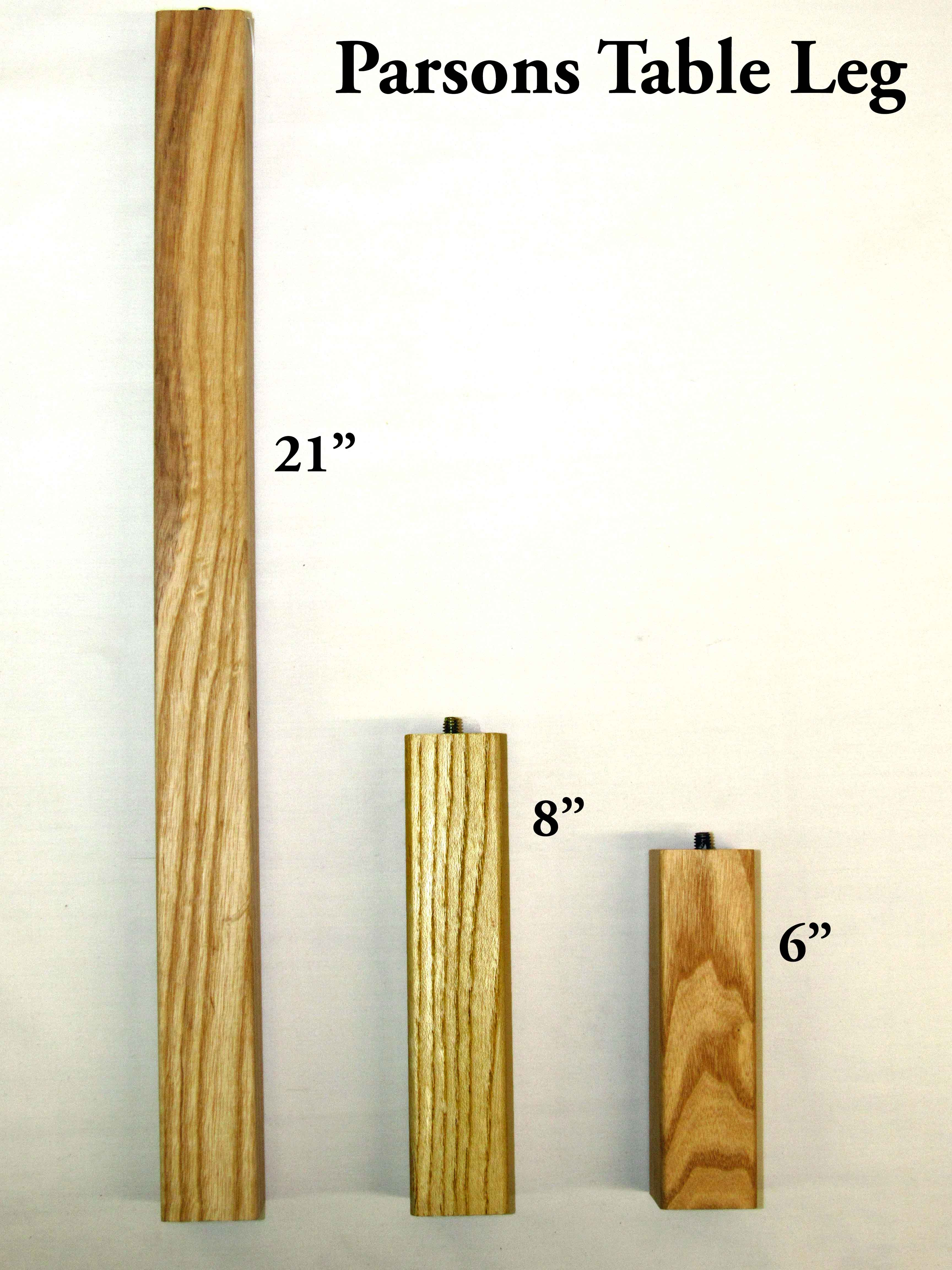 Parsons Table Legs