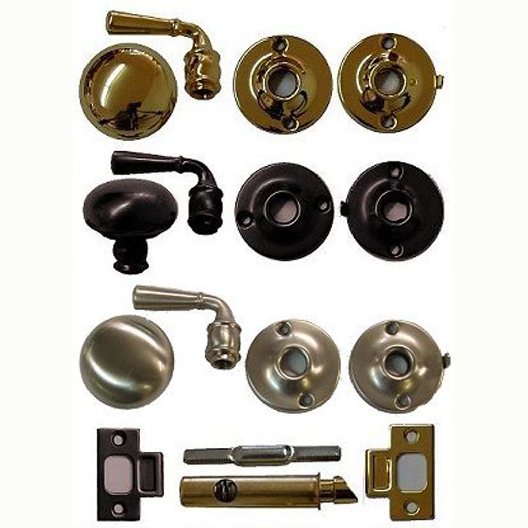 storm door lock and lever handle set ives