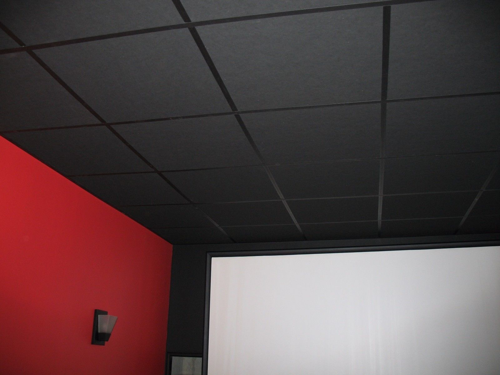 Black Acoustic Ceiling Tile By Armstrong Capitol City Lumber