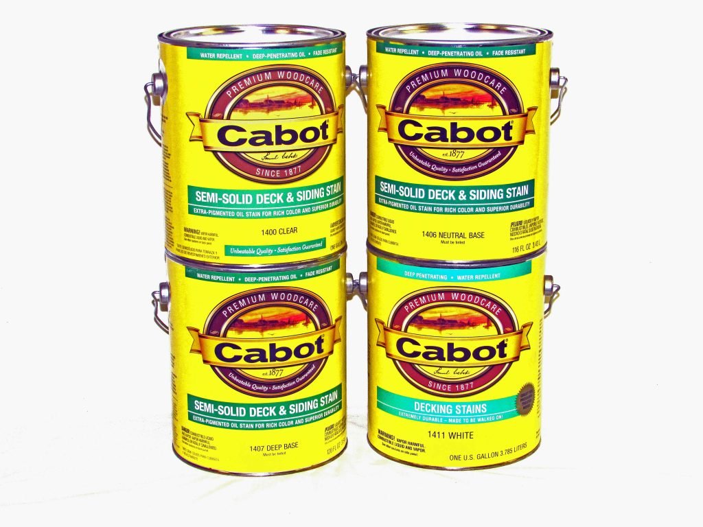 Cabot 174 Semi Solid Deck Amp Siding Stain 1400 Series