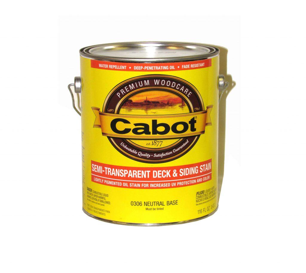 Cabot 174 Semi Transparent Deck Amp Siding Stain 300 Series