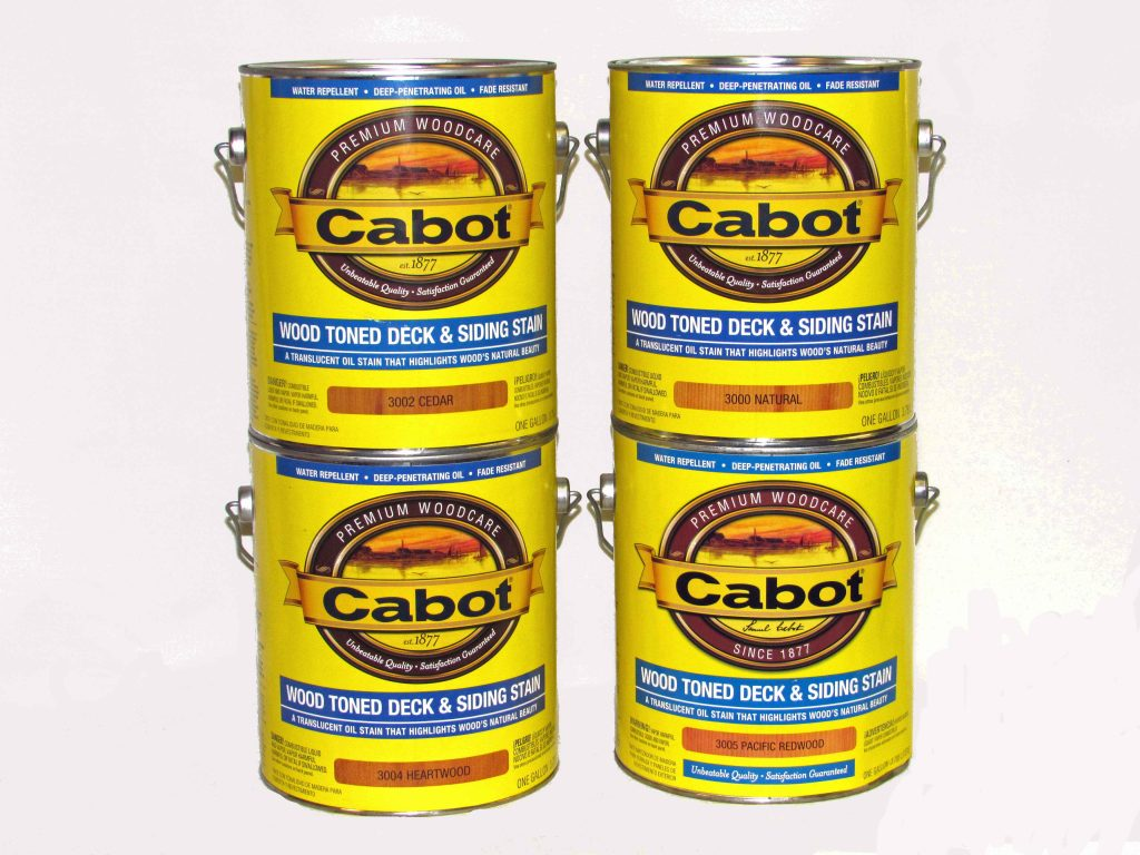 Cabot 174 Wood Toned Deck Amp Siding Stain 3000 Series