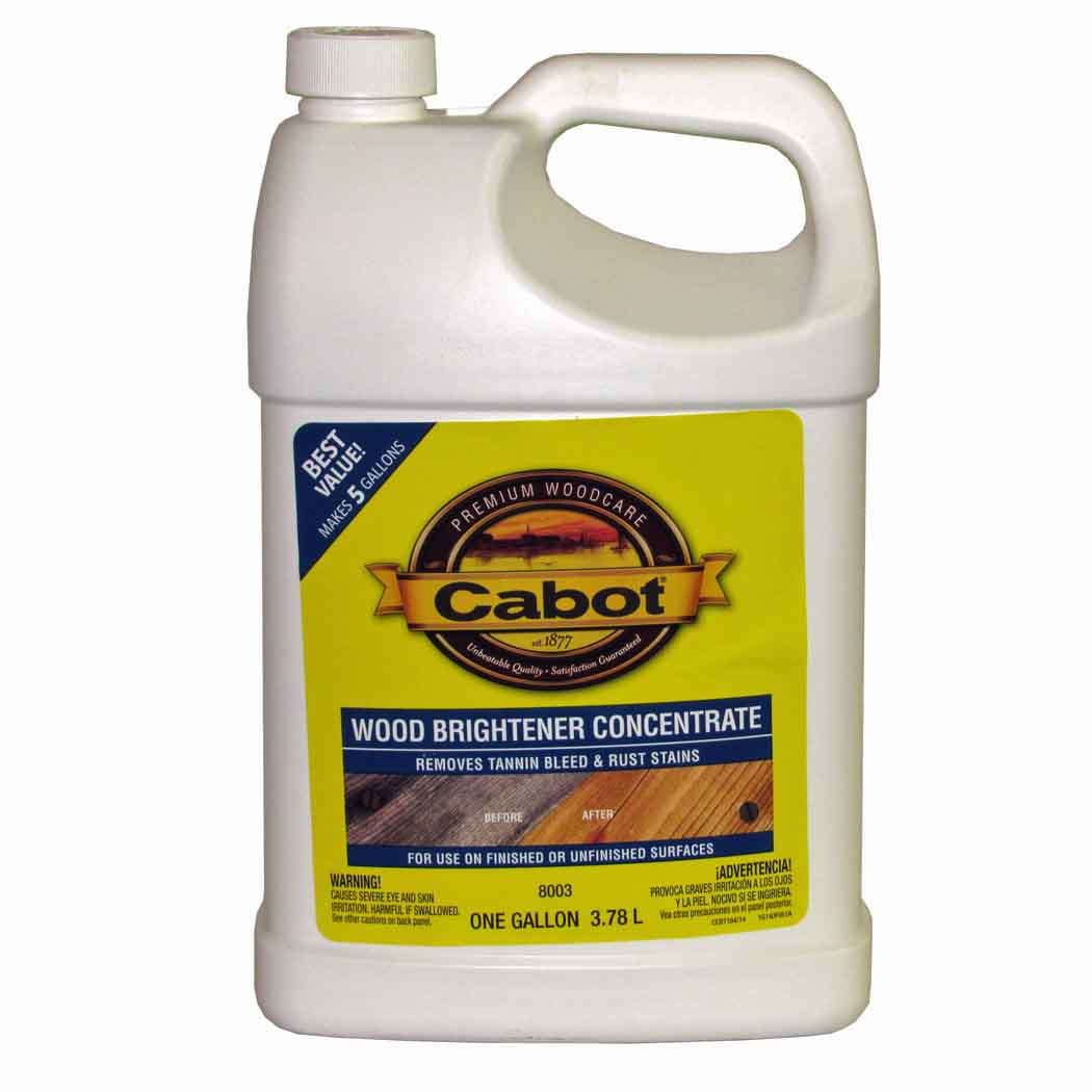 Cabot Problem Solver Wood Brightener Concentrate 8003 Capitol City Lumber