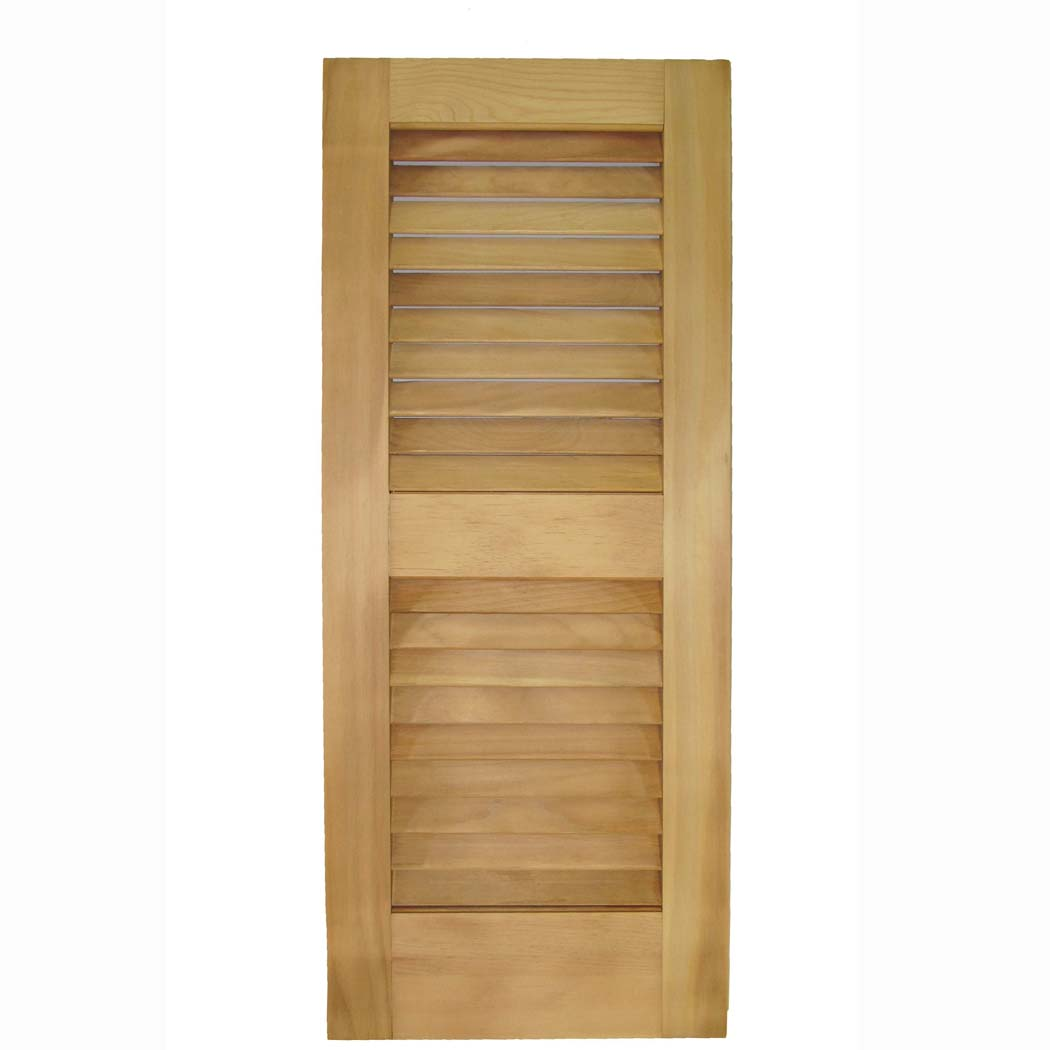 Classic Louvered Exterior Shutters with Woodlife Treatment - Capitol ...