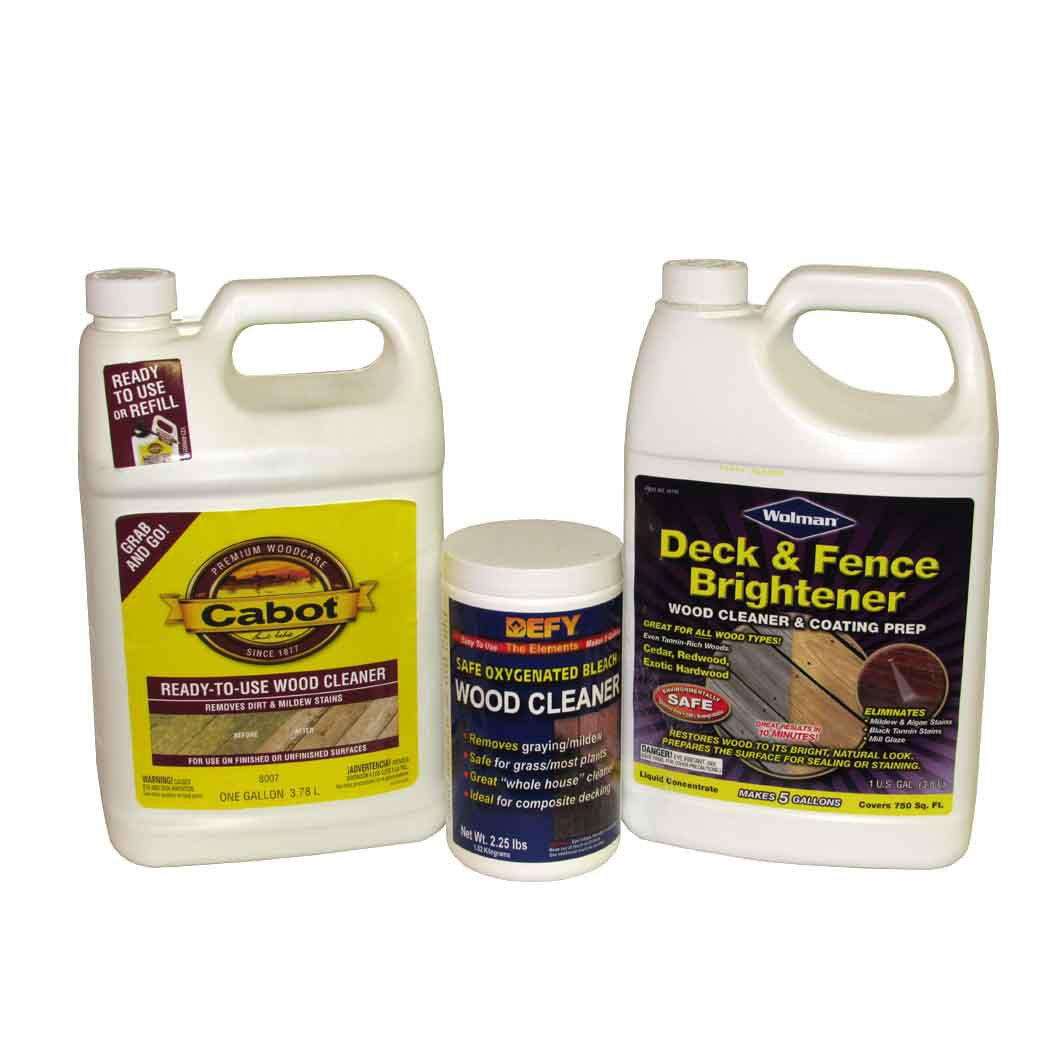 Deck Cleaners and Brighteners