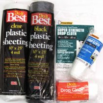 Plastic Sheething and Drop Cloths