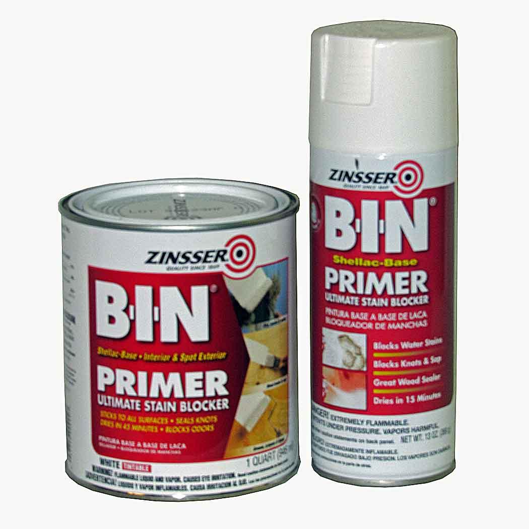 Zinsser B I N Shellac Based Primer Capitol City Lumber
