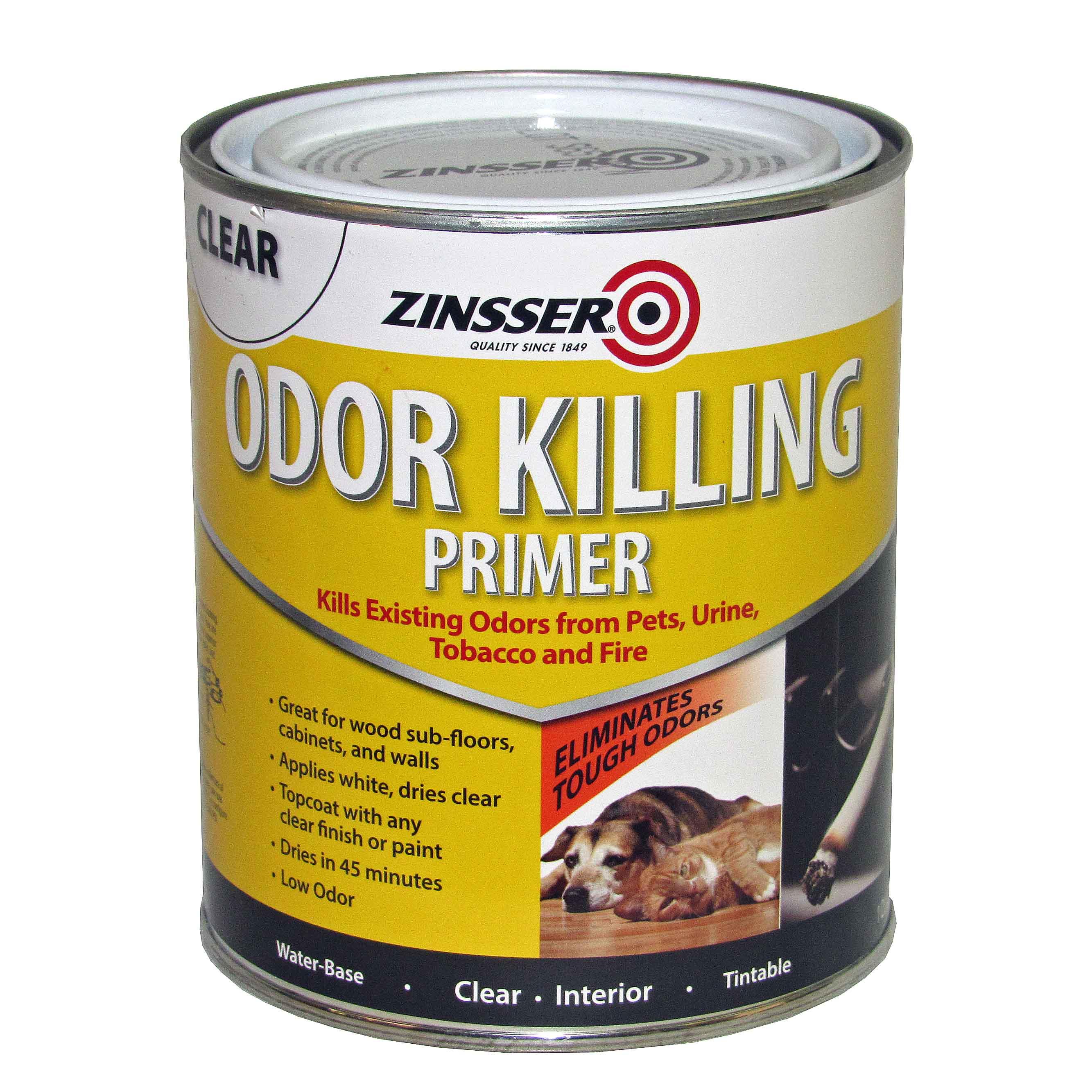 Zinsser Odor Killing Primer Capitol City Lumber
