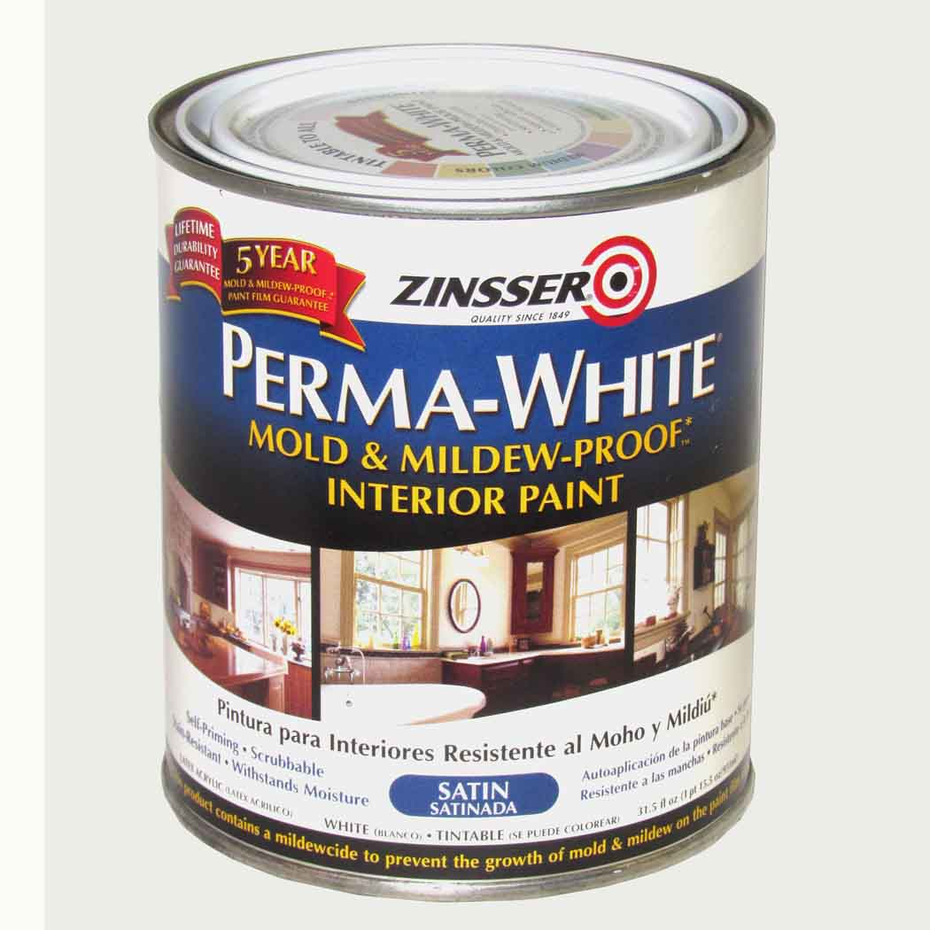 Zinsser Perma White Mold Mildew Proof Interior Capitol City Lumber