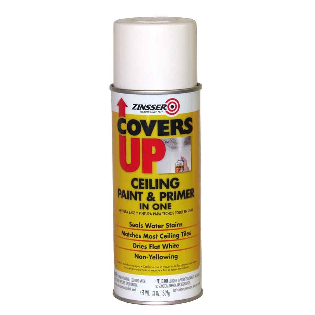 Zinsser Covers Up Ceiling Paint Primer Capitol City Lumber