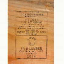 Fire-Retardant Plywood