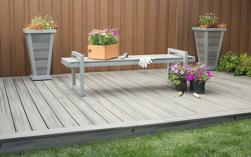 Trex transcend composite decking capitol city lumber for Composite decking sale