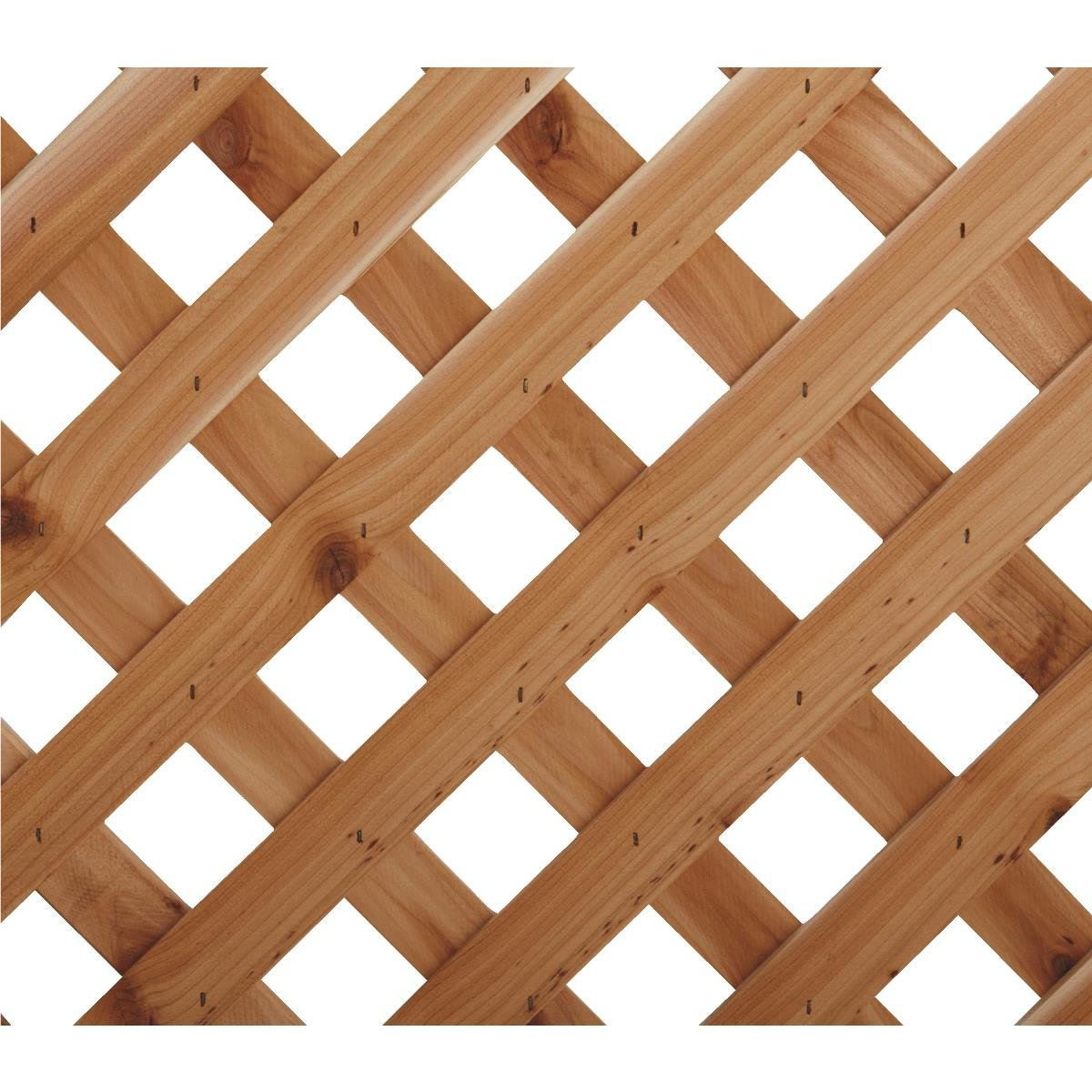 Diagonal Heavy Duty Cedar Lattice Capitol City Lumber
