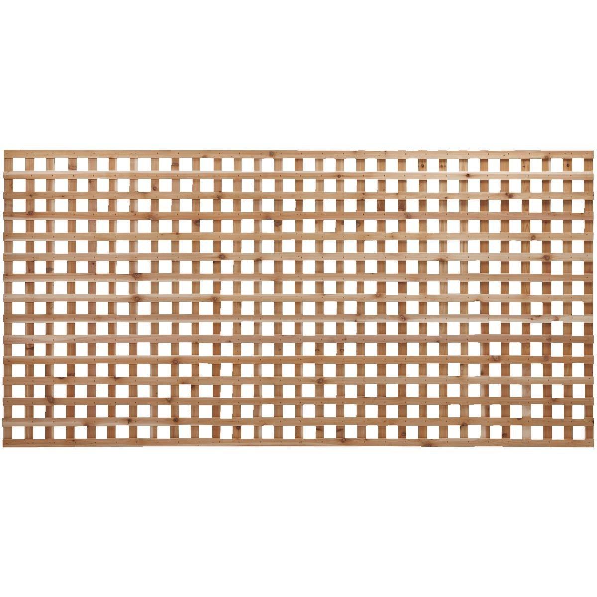 Cedar Lattice Panels ~ Square heavy duty cedar lattice capitol city lumber