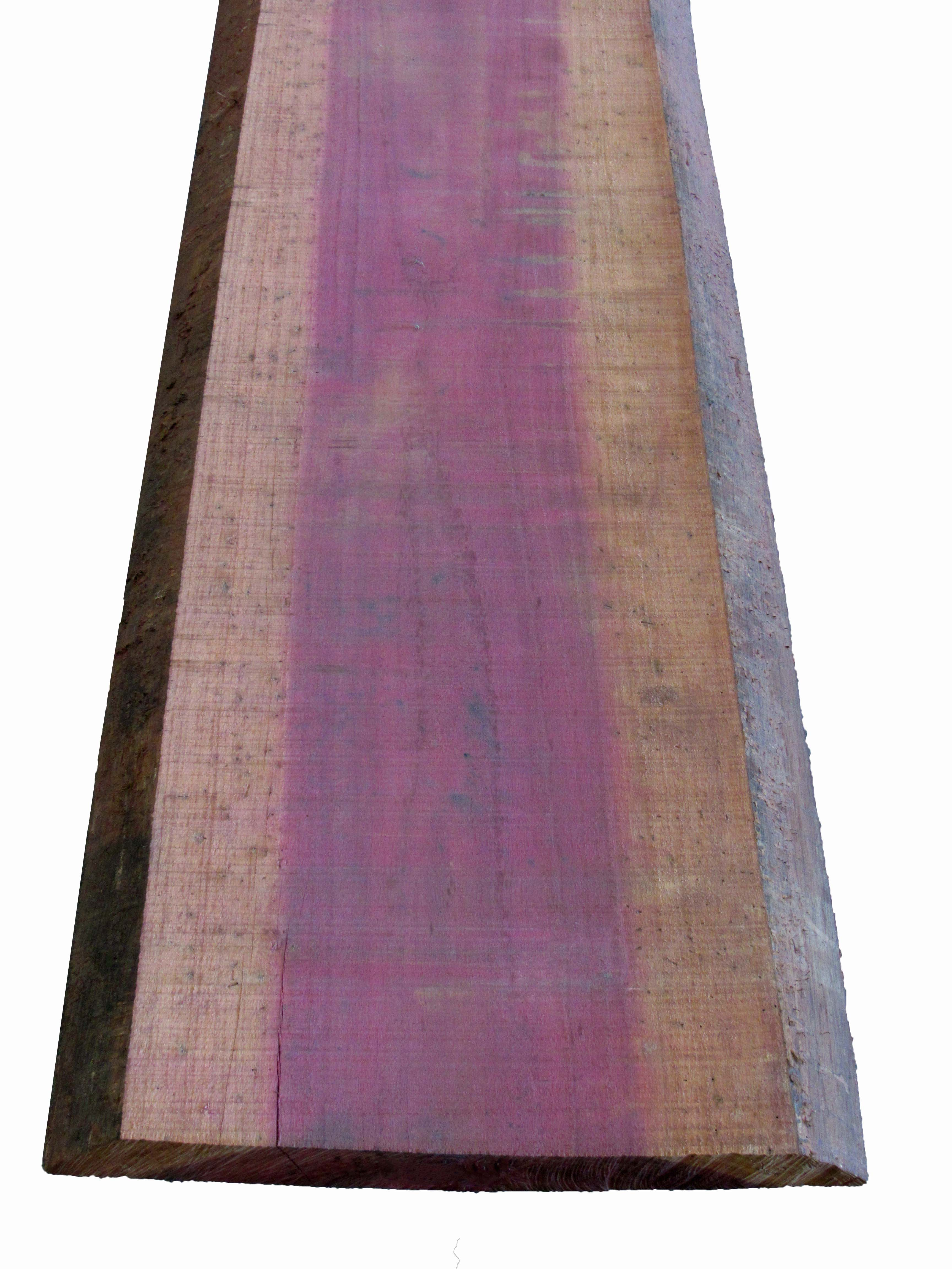 Purple heart hardwood live edge boule capitol city lumber for Purple heart flooring