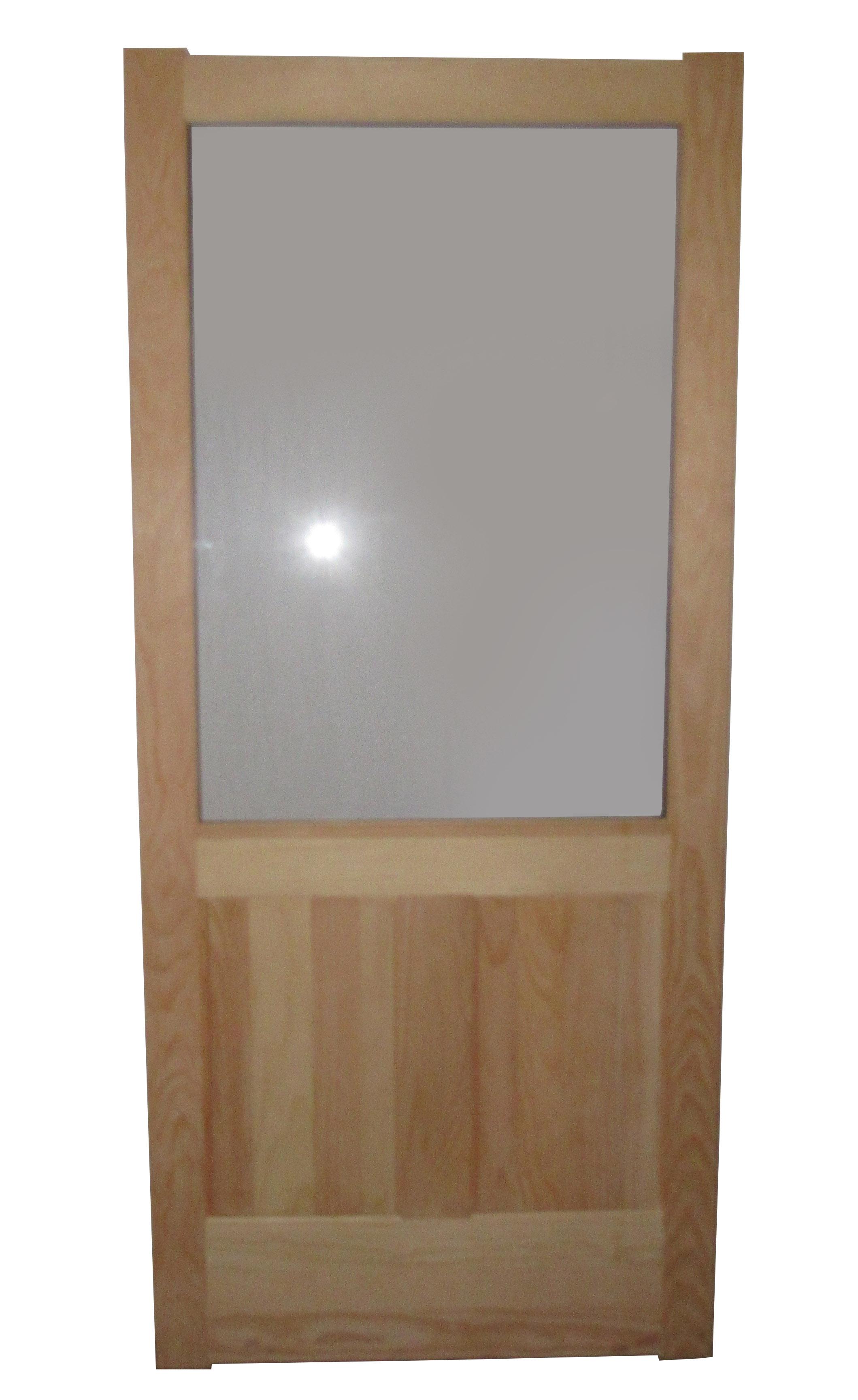 2 Raised Panel 300rp Storm Amp Screen Door Combo Capitol