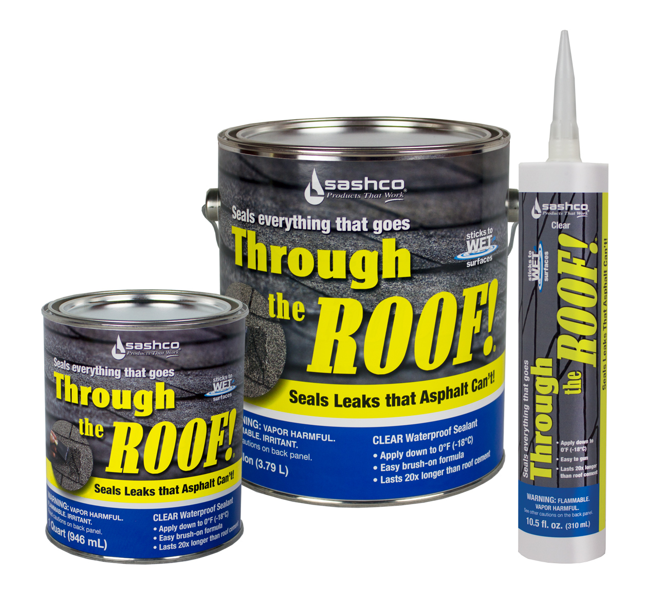 Through The Roof Clear Waterproof Sealant Capitol