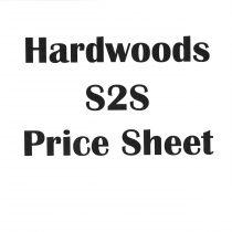 Hardwoods S2S Price Sheet